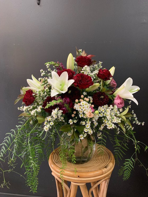 Romantic Ruby Arrangement