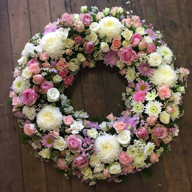 Pretty Pastel Wreath