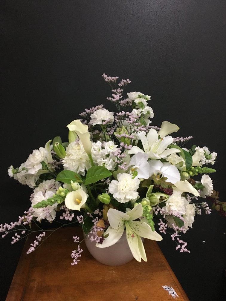 Creamy Whites Arrangement