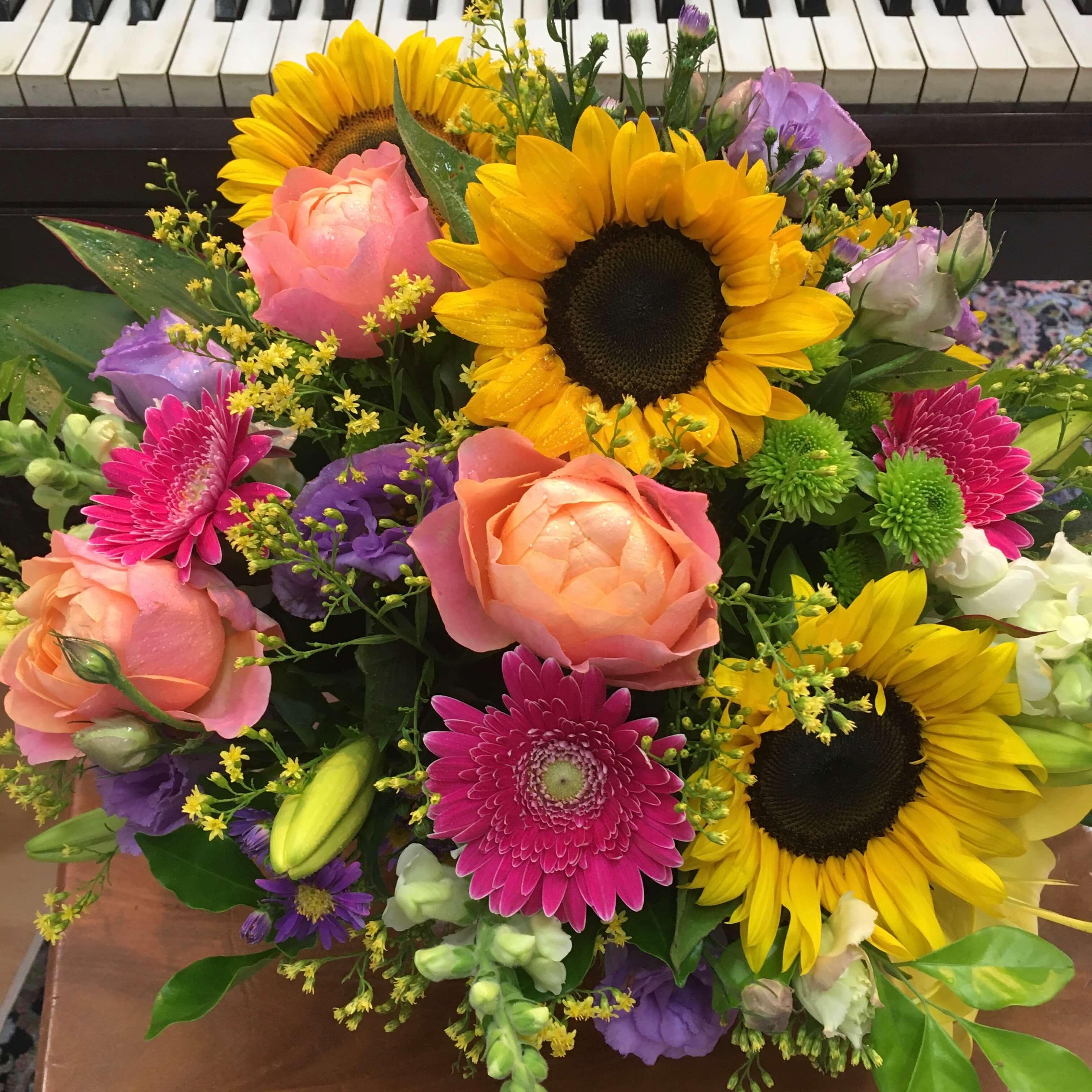 Bright Cheerful Arrangement