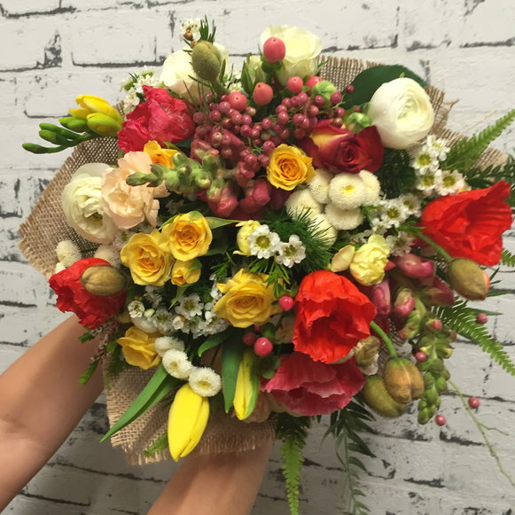 Bright & Cheerful Bouquet