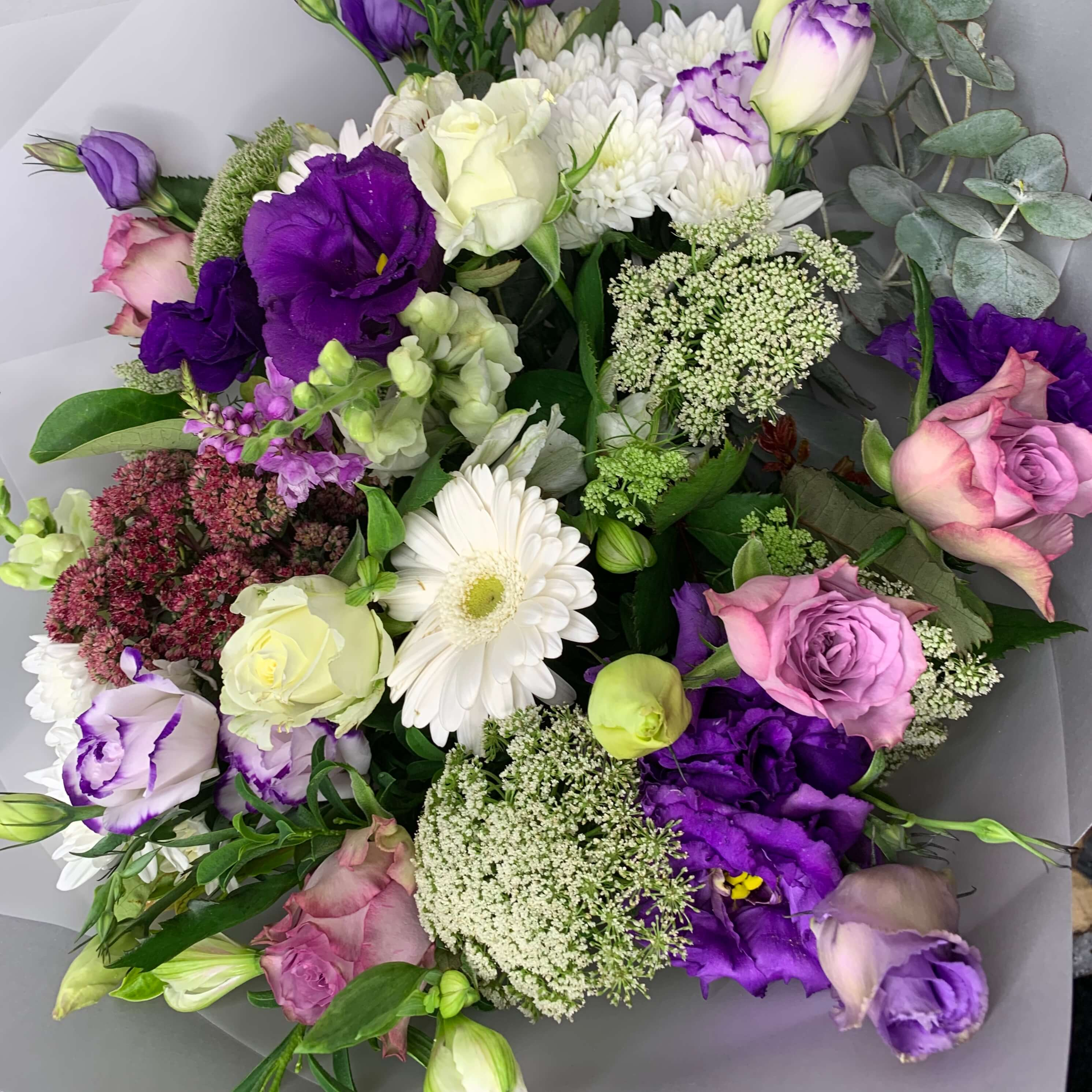 A Touch Of Purple Bouquet